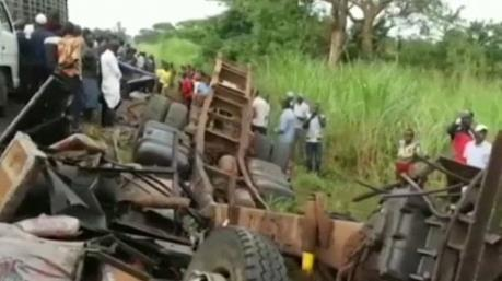 Tai nạn liên hoàn ở Uganda khiến ít nhất 10 người thiệt mạng