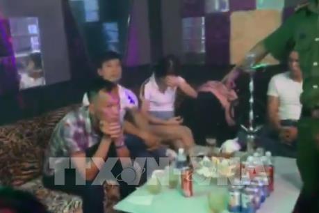 Phát hiện hàng trăm người dùng ma túy trái phép trong quán bar