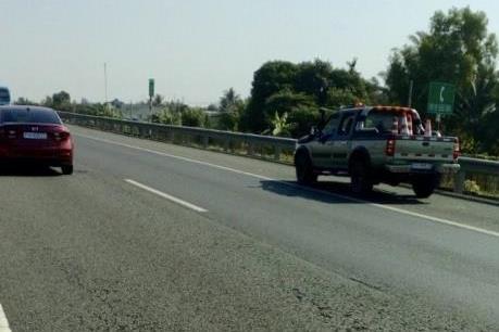 Kiến nghị cho phép thu phí trở lại cao tốc Tp. Hồ Chí Minh  - Trung Lương