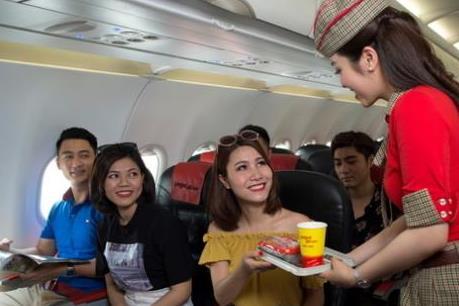 Vietjet khuyến mại nhiều vé 0 đồng nhân sự kiện mở đường bay thẳng Việt Nam - Ấn Độ