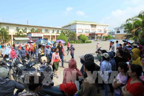 Hơn 2.000 cán bộ, công nhân Công ty KaiYang Việt Nam làm việc trở lại
