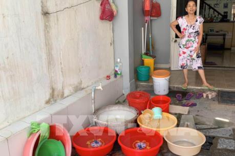 Hàng nghìn hộ dân Đà Nẵng đang chờ nước