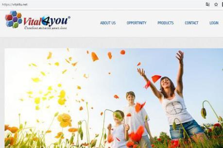 Cảnh báo hệ thống bán hàng vital4u.net có dấu hiệu kinh doanh đa cấp trái phép