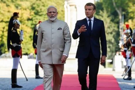 Ấn Độ, Pháp hợp tác về hàng hải ở Ấn Độ Dương-Thái Bình Dương