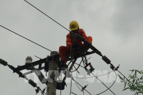 Đảm bảo an toàn điện mùa mưa bão