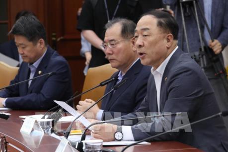 Hàn Quốc sẽ cố gắng giảm thiểu rủi ro từ căng thẳng thương mại với Nhật Bản