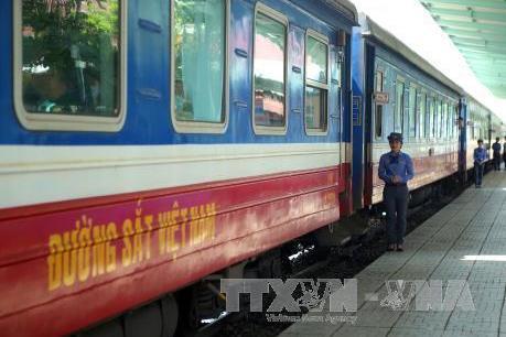 Đường sắt nối toa, tăng chuyến phục vụ nghỉ lễ Quốc khánh 2/9