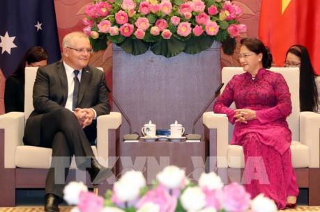 Chủ tịch Quốc hội Nguyễn Thị Kim Ngân hội kiến Thủ tướng Australia Scott Morrison