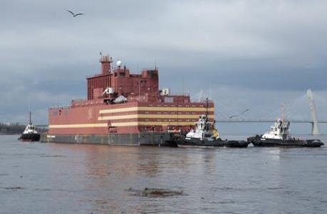 Nga hạ thủy nhà máy điện hạt nhân nổi đầu tiên ở Bắc Cực