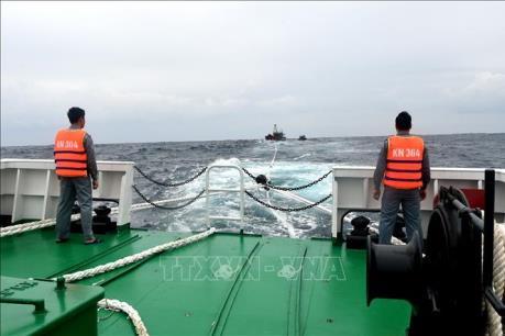 Cứu nạn kịp thời ngư dân bị tai nạn, hôn mê