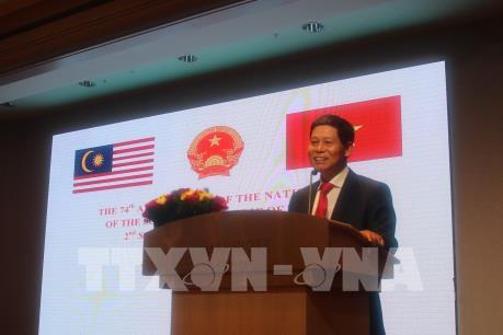 Đại sứ Lê Quý Quỳnh: Việt Nam và Malaysia còn nhiều dư địa mở rộng hợp tác