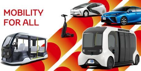 Toyota cung cấp 3.700 các loại xe cho Olympic và Paralympic 2020