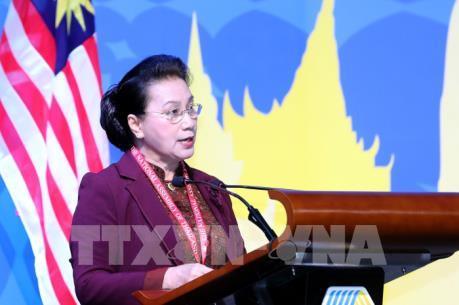 Chủ tịch Quốc hội phát biểu tại Phiên toàn thể thứ nhất Đại hội đồng AIPA 40