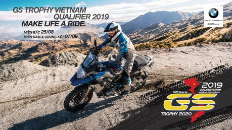 BMW Motorrad lần đầu tổ chức vòng loại giải đấu GS Trophy Việt Nam