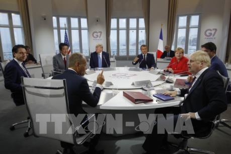 Lãnh đạo G7 cam kết ứng phó với rủi ro suy giảm kinh tế toàn cầu