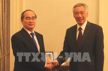 Singapore muốn thúc đẩy hợp tác toàn diện với Thành phố Hồ Chí Minh