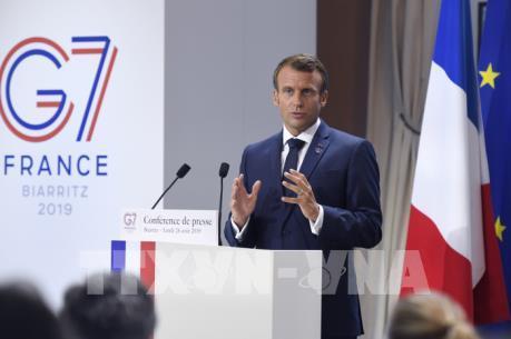 Pháp ra tuyên bố hội nghị G7 về nhiều vấn đề nóng