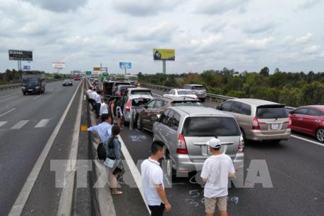 Nguy cơ mất an toàn giao thông trên cao tốc Tp Hồ Chí Minh – Trung Lương