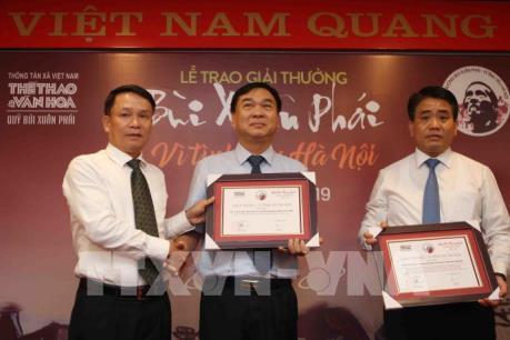 """Giải thưởng Bùi Xuân Phái tiếp tục tôn vinh những """"tình yêu Hà Nội"""""""
