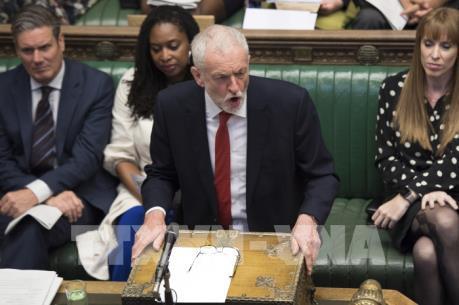 """Công đảng Anh ngăn chặn kịch bản Brexit """"không thỏa thuận"""""""
