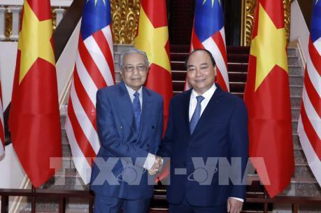 Hội đàm giữa Thủ tướng Nguyễn Xuân Phúc và Thủ tướng Malaysia Mahathir Mohamad