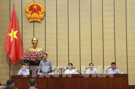 Thông tin quá trình thanh tra quản lý, sử dụng đất khu sân bay Miếu Môn