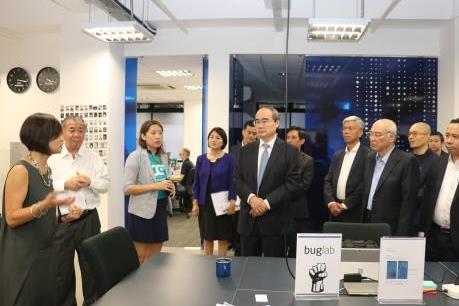 Tp. Hồ Chí Minh thúc đẩy hợp tác với Singapore về khởi nghiệp sáng tạo
