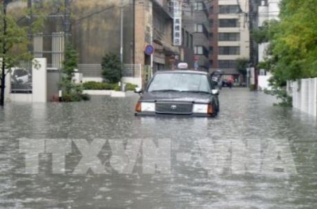 Nhật Bản ban bố cảnh báo cao nhất thảm họa thiên tai tại miền Tây