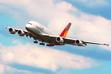 Asiana Airlines sẽ tăng tần suất bay từ Incheon đi Đà Nẵng lên gấp đôi