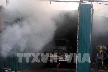 Thông tin mới về vụ cháy tại Nguyễn Xiển, Hà Nội