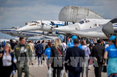 Máy bay phản lực Nga gây ấn tượng tại MAKS-2019