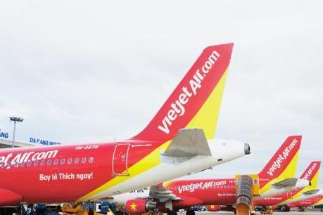 Ảnh hưởng của bão số 4, Vietjet Air ngừng khai thác một số chuyến bay ngày 29/8