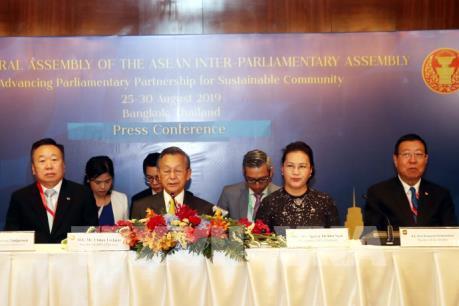 Chủ tịch Quốc hội kết thúc tốt đẹp chuyến tham dự AIPA 40 và thăm Thái Lan