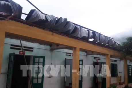 Thiệt hại không nhỏ sau dông lốc ở Văn Bàn, Lào Cai