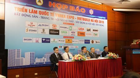 Vietbuild Hà Nội 2019 sẽ diễn ra từ ngày 4-8/9