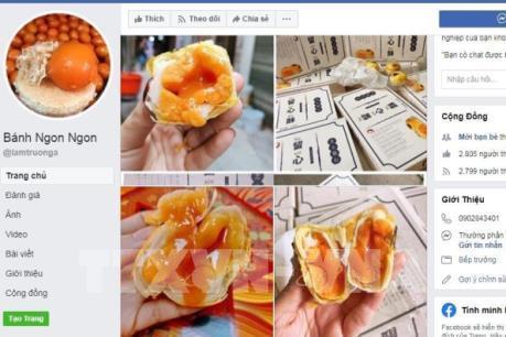 """Tràn lan quảng cáo bánh Trung thu xách tay """"siêu rẻ"""""""