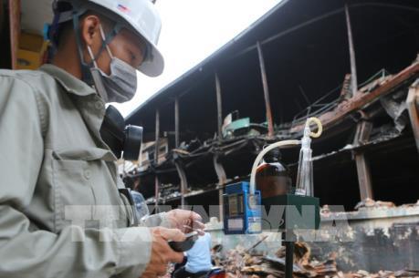 Vụ cháy Công ty Rạng Đông: Chỉ tiêu thuỷ ngân trong nguồn nước có an toàn?