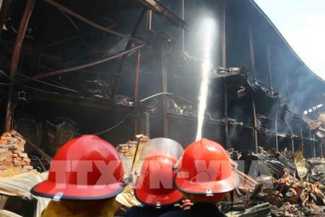 Công bố kết quả xét nghiệm của các cảnh sát cứu hỏa vụ cháy Công ty Rạng Đông