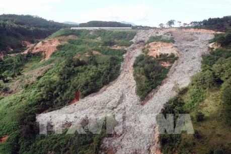 Lâm Đồng đề nghị hỗ trợ kinh phí để đóng các bãi rác gây ô nhiễm