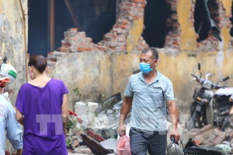 Vụ cháy Công ty bóng đèn phích nước Rạng Đông: Đã có kết quả phân tích môi trường