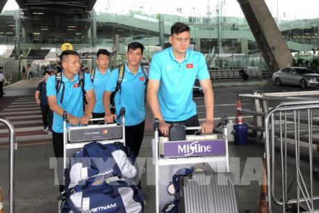 Đội tuyển Việt Nam tới Thái Lan dự trận mở màn Vòng loại World Cup 2020