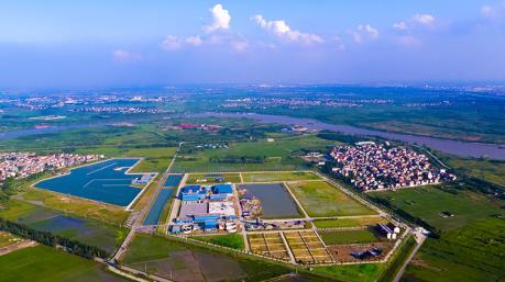 Sắp đưa vào sử dụng giai đoạn 1 nhà máy nước mặt sông Đuống