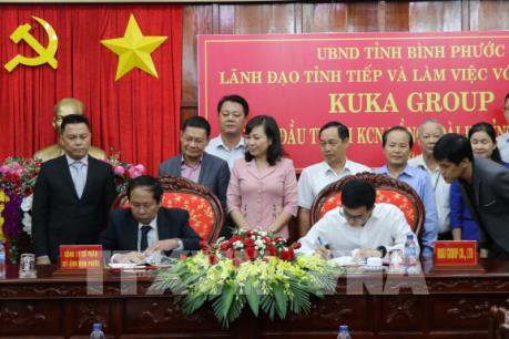 Tập đoàn Kuka Home đầu tư 50 triệu USD vào Bình Phước