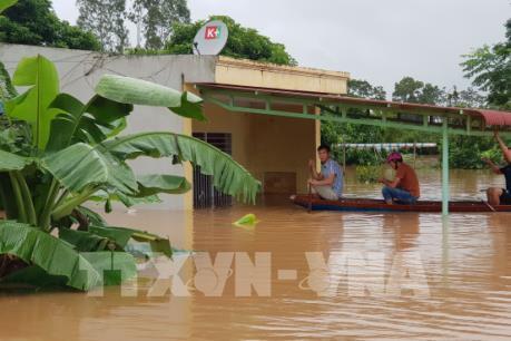 Quảng Trị:  Mưa to gây ngập lụt diện rộng