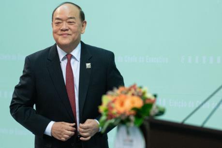Ông Hạ Nhất Thành được bổ nhiệm làm Trưởng khu Hành chính đặc biệt Macau