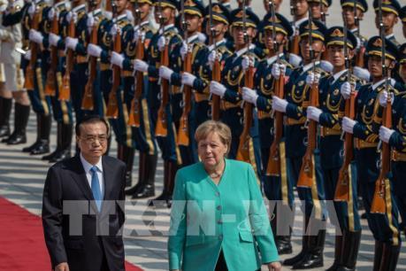 Thủ tướng Merkel: Đức mở cửa cho tất cả các nhà đầu tư Trung Quốc