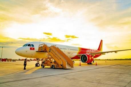 Ảnh hưởng của bão Ling Ling, một số chuyến bay của Vietjet thay đổi thời gian khởi hành