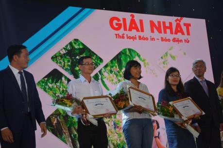 TTXVN đoạt hai giải Nhất Giải Báo chí Du lịch Tp. Hồ Chí Minh năm 2019