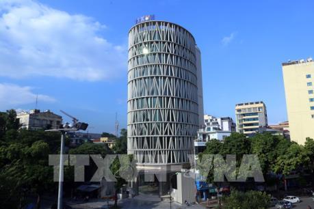 Độc đáo kiến trúc tòa nhà Trung tâm Truyền hình Thông tấn (Vnews)