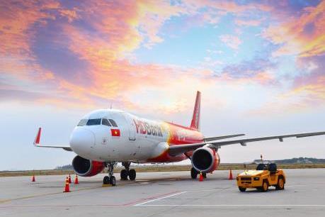 Bão Faxai, Vietjet thay đổi thời gian khởi hành một số chuyến bay